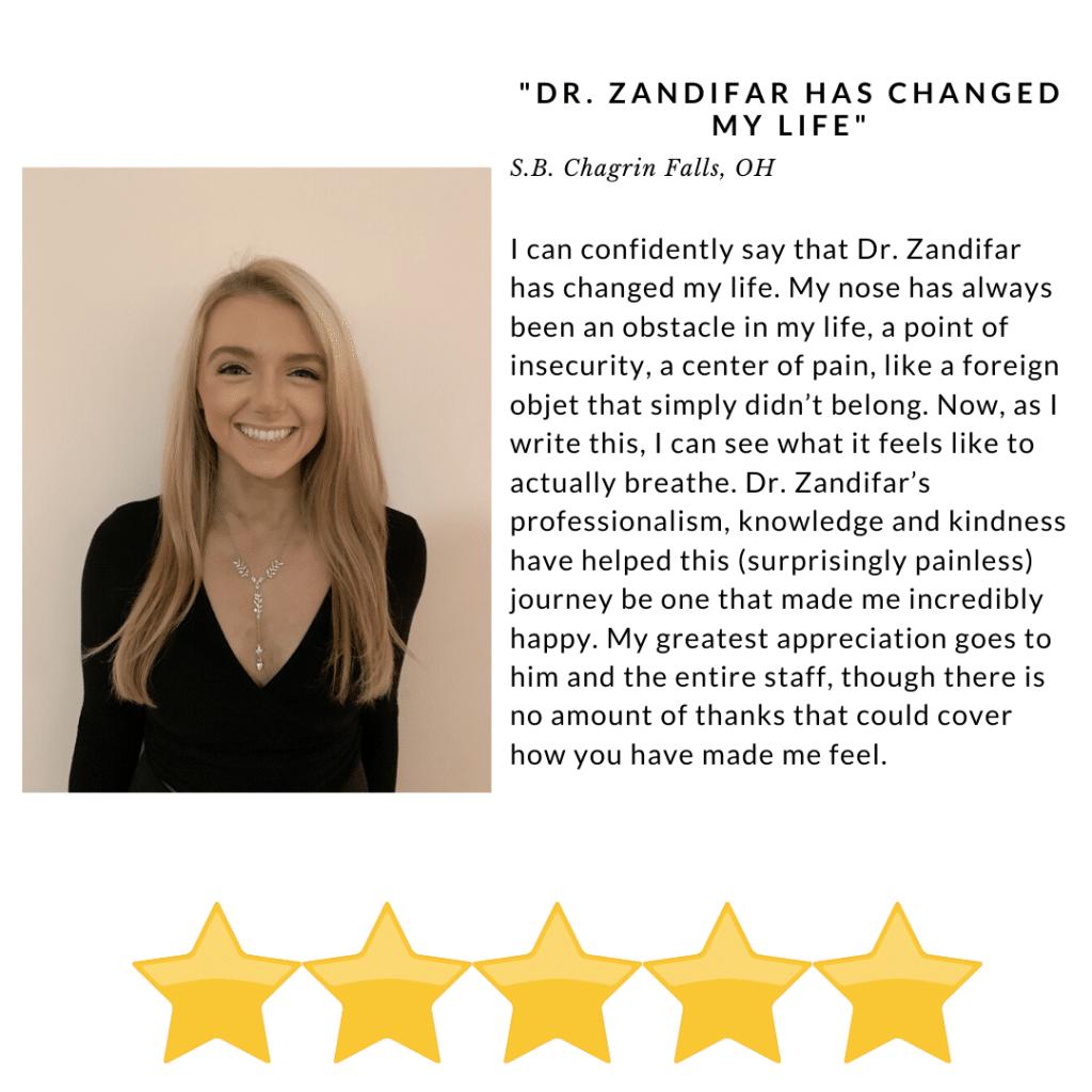 Dr Zandifar Has changed my life - Review