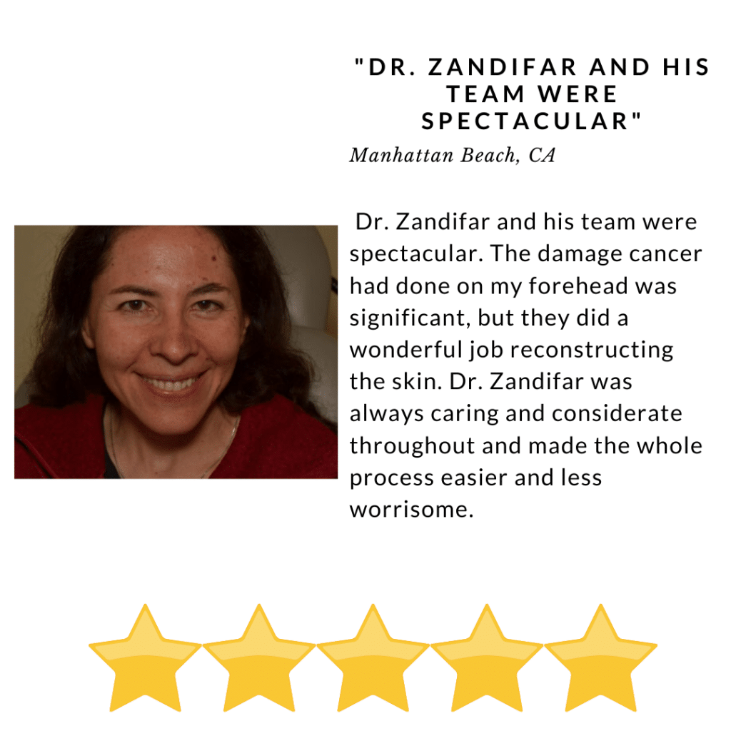 Dr. Zandifar and His team were spectacular - Review