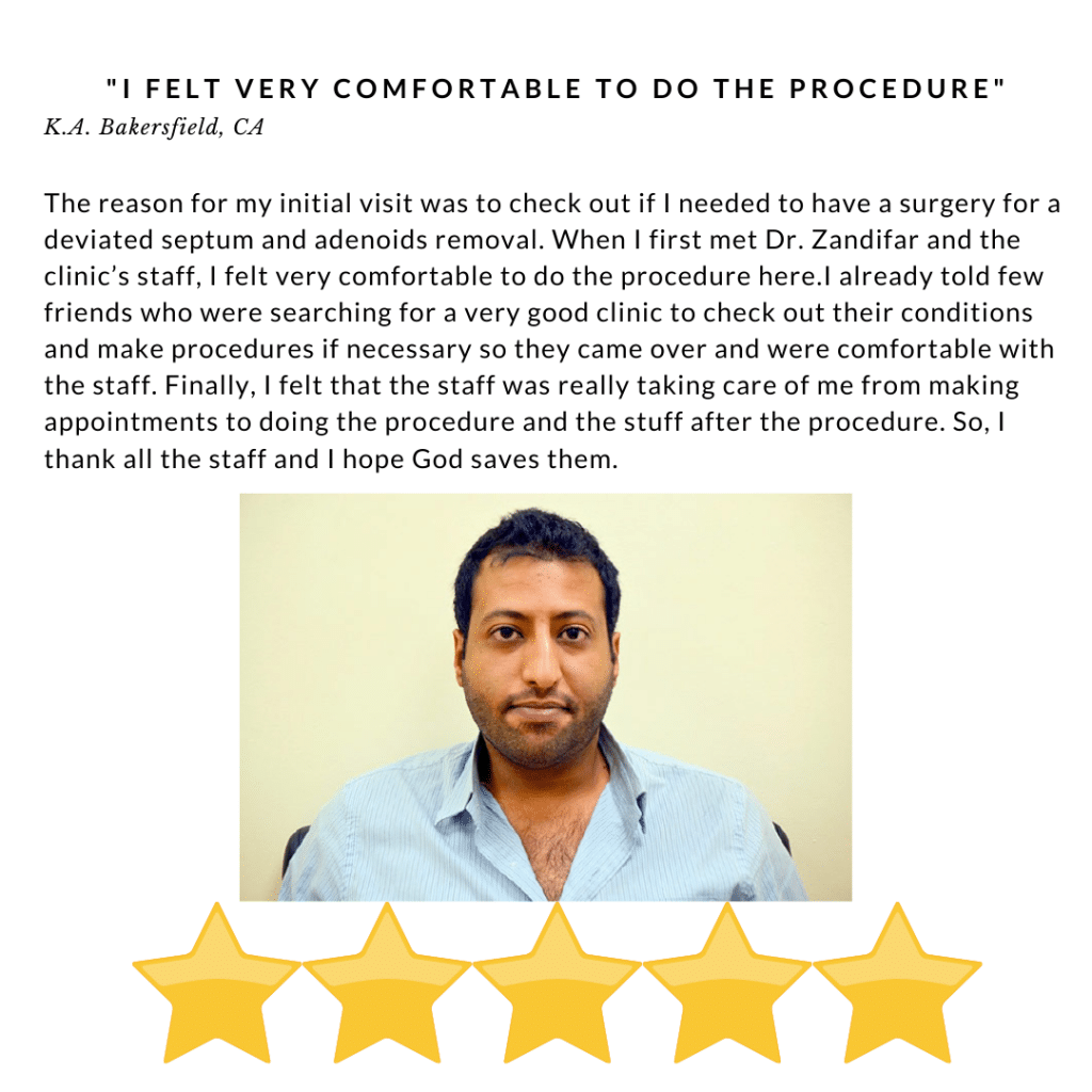 I felt very comfortable to do the procedure - Review